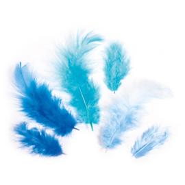 Veren - 3-10 cm - Blauw - 10 gr