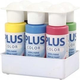 Plus Color Acrylverf - 6 x 60 ml - Color School