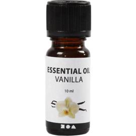 Geurolie voor kaarsen en zeep - Vanille - 10 ml