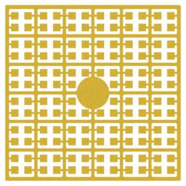 Pixelmatje - kleur goud
