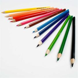 Colortime Kleurpotloden - 12 kleuren