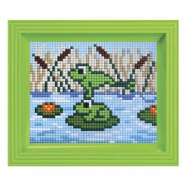 Pixelhobby Geschenkset incl. Lijst - Kikkers