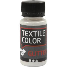 Textile Color Transparant Textielverf met Glitter - 50 ml