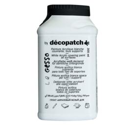 Decopatch Gesso | witte verf op waterbasis | 70 of 300 ml