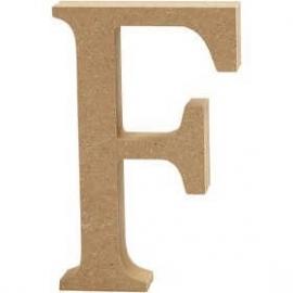 MDF Letter F 13 cm