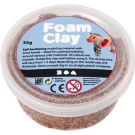 Foam Clay - Klei - Bruin 35 gram