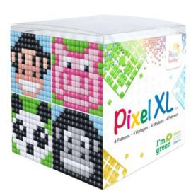 Pixelhobby XL Kubus 4 Dieren (Aap)