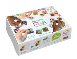 Pixelhobby School Pakket  Sleutelhangers maken - incl. Educatief boekje