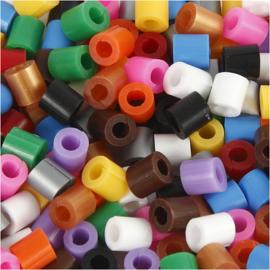 Strijkkralen met open zijkant - Medium - 1100 div kleuren