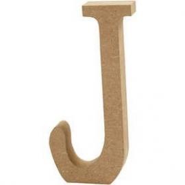 MDF Letter J 13 cm