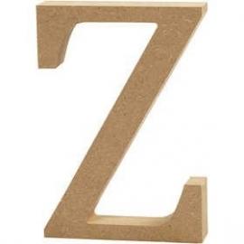 MDF Letter Z 13 cm