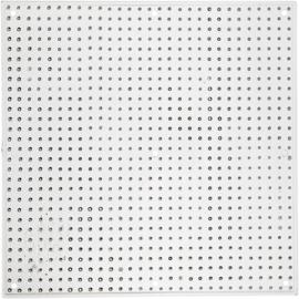 Vierkante Onderplaat van Nabbi - medium strijkkralen - 14,5 cm