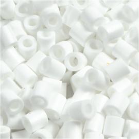 Nabbi Strijkkralen Wit - 1100 stuks - 5 mm