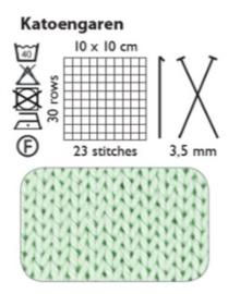 Oeko-Tex Katoen garen - Oranje - 170 meter - 50 gr
