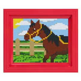Pixelhobby Geschenkset incl. Lijst - Paard