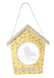 Decopatch knutselpakket Tuin met vogelhuis fotolijstje