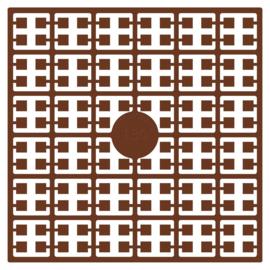 Pixelmatje - kleur bruin