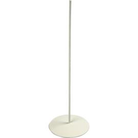 Metalen Voet - Wit - 15 cm