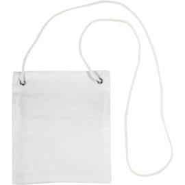 Katoenen Hangportemonnee / tasje - 13 x 15 cm - 210 g/m2