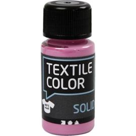 Textile Color Solid Roze - dekkend  - 50 ml