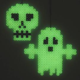 Knutselidee : Halloween decoratie van Strijkkralen