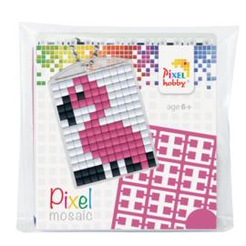 Pixelhobby Sleutelhanger Flamingo