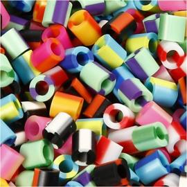 Nabbi Strijkkralen bonte kleuren - 1100 st