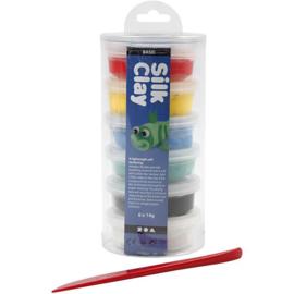 Silk Clay Basic - 6 x 14 gr