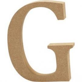 MDF Letter G 13 cm