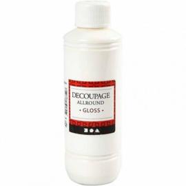 Decoupage lijm - 250 ml - Glans