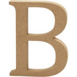 MDF Letter B 13 cm