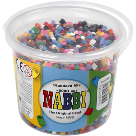 Nabbi Strijkkralen diverse kleuren - 5000 st