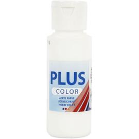 Plus Color Acrylverf Wit 60 ml