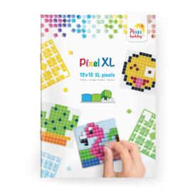 Pixelhobby XL Patronenboekje voor basisplaat 6 x 6 cm