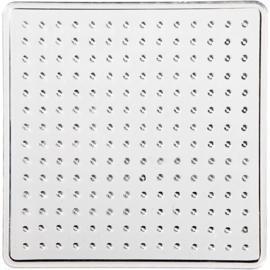 Vierkante Onderplaat - medium strijkkralen -  7 x 7 cm