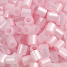 Nabbi Strijkkralen Roze Parelmoer - 1100 stuks - 5 mm