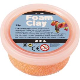 Foam Clay Glitter Oranje 35 gram