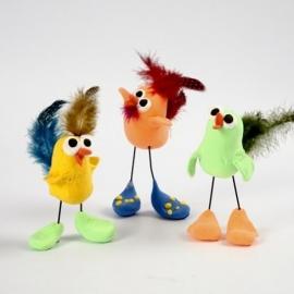 Knutselidee: Vogels van Silk Clay