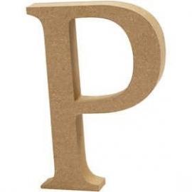 MDF Letter P 13 cm
