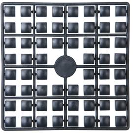 Pixelmatje XL - kleur zwart (441)