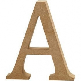 MDF Letter A 13 cm