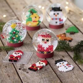 Knutselidee : Kerst Schneeuwbol maken