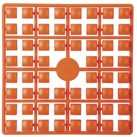 Pixelmatje XL - kleur oranje/rood (224)
