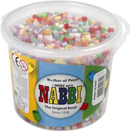 Nabbi Strijkkralen Parelmoer - 5000 st