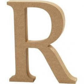 MDF Letter R 13 cm