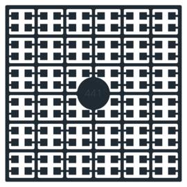 Pixelmatje - kleur zwart
