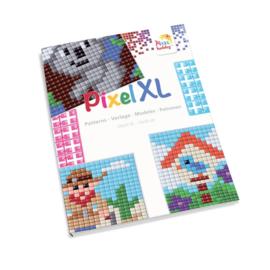 Pixelhobby XL Patronen boekje voor flexibele basisplaat 12 x 12 cm