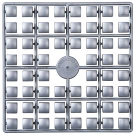 Pixelmatje XL - kleur zilver (561)