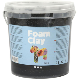 Foam Clay - Zwart - 560 gram