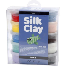 Silk Clay Basic I - 10 x 40 gr